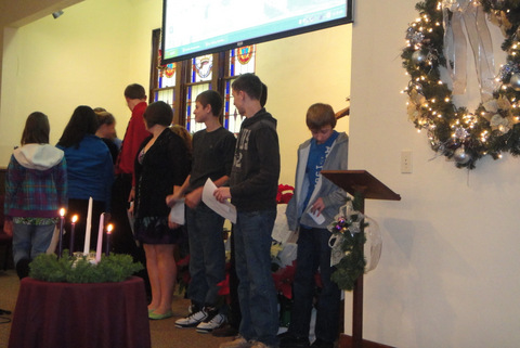 Youth Christmas Service '12
